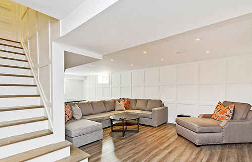 Basement and Whole Home Renovations in Burlington