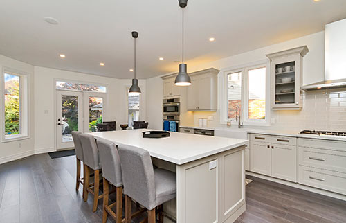 Kitchen and Whole Home Renovation in Burlington