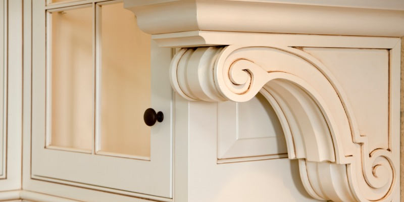custom cabinetry detail