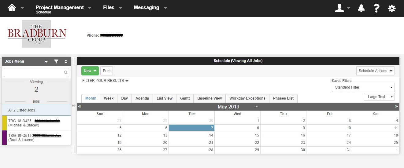 Bradburn Client Portal 2
