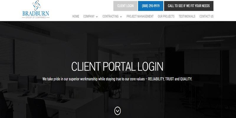 client portal banner