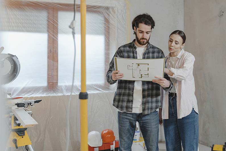 How to Remodel a Living Room for Resale